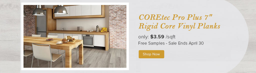COREtec Pro Plus 7 Rigid Core Vinyl Planks