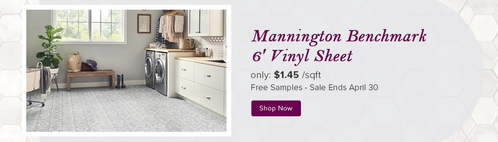 Mannington Benchmark 6' Vinyl Sheet