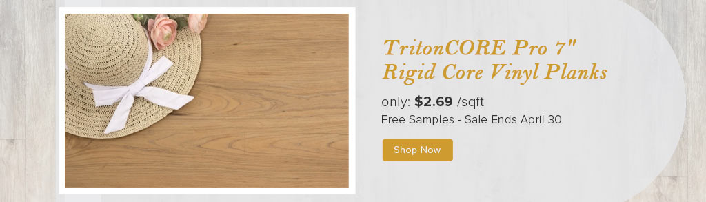 TritonCORE Pro 7 Rigid Core Vinyl Planks