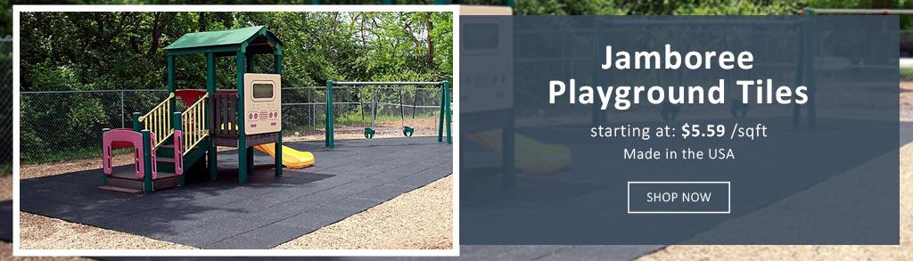 playground flooring equipment