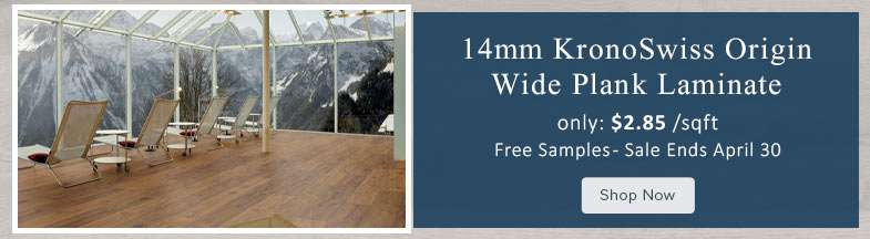 14mm KronoSwiss Origin Wide Plank Laminate