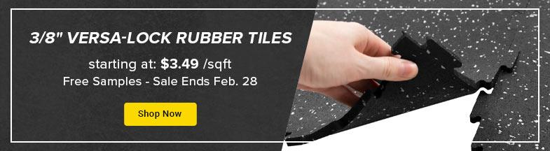 rubber tiles promo