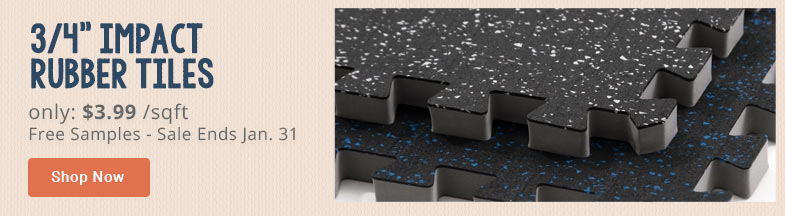 rubber top tiles