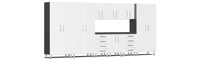 Organize Garage Cabinets