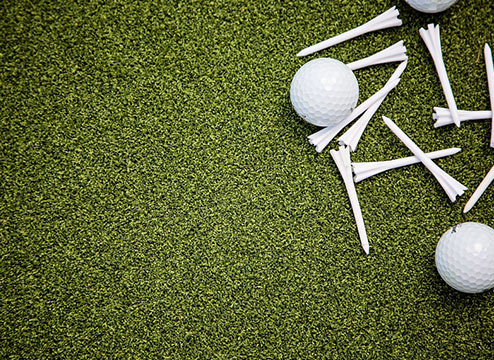 Artificial grass is the best choice when it comes to putting practice, and the closest to being out on the range. Learn more about artificial putting green.