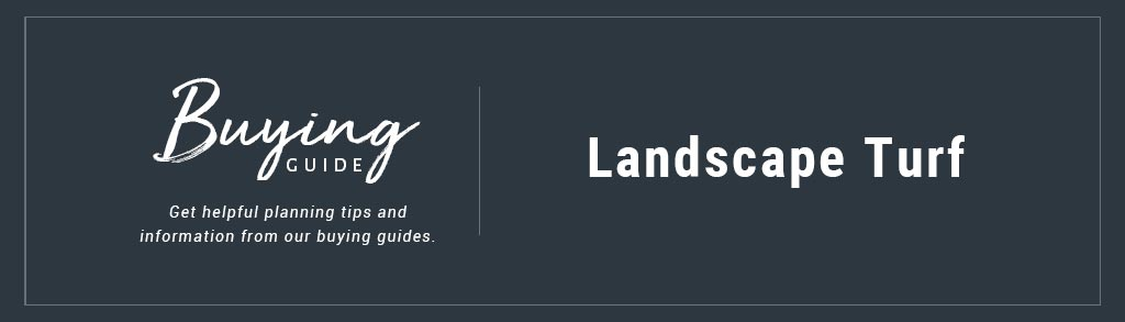 Buyers Guide Landscape Turf