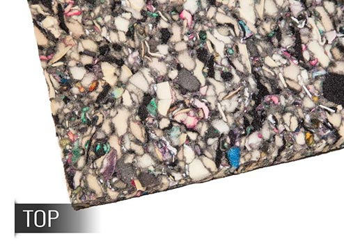 bonded foam carpet padding