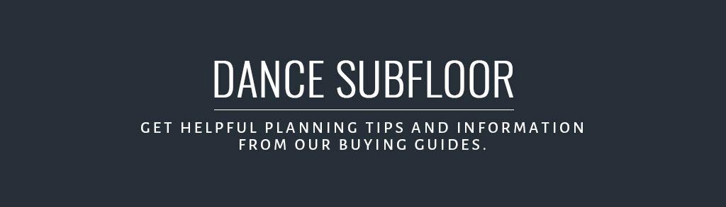 Dance Subfloor Buying Guide