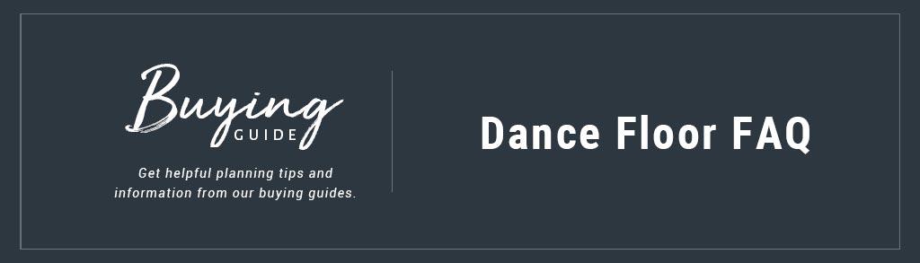 Buyers Guide Dance Flooring FAQ