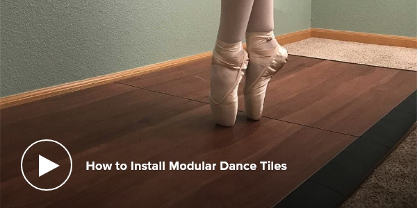 How to Install Modular Dance Tiles