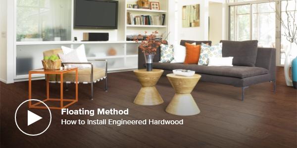 How to Install Engineered Hardwood – Floating Method