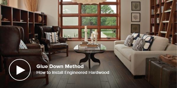 How to Install Engineered Hardwood – Glue Down Method