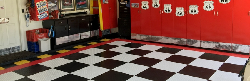 Grid-Loc Garage Tiles