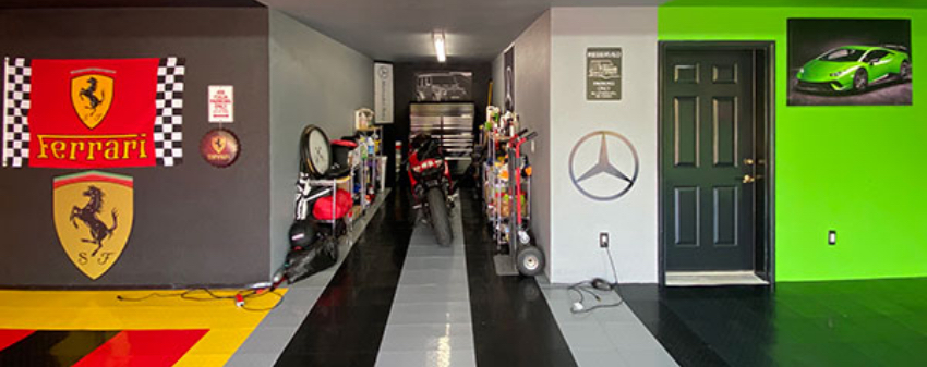 garage theme ideas