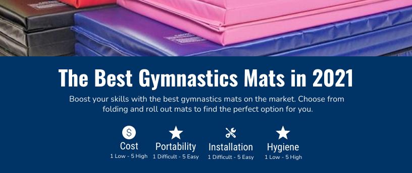 best gymnastics mats infographic
