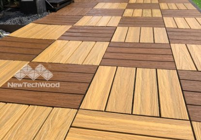 NewTechWood Deck Tiles