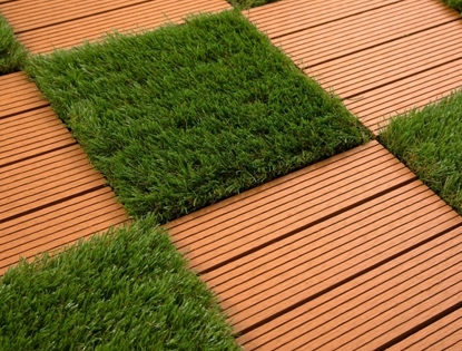 Helios Artificial Grass Deck Tiles