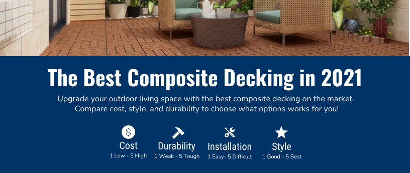 best composite decking infographic