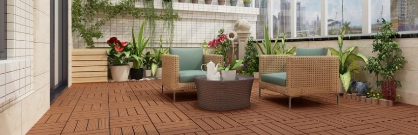 Naturesort Deck Tiles - Terrace (4 Slat)