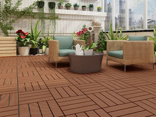 Naturesort Deck Tiles - Terrace 4 Slat