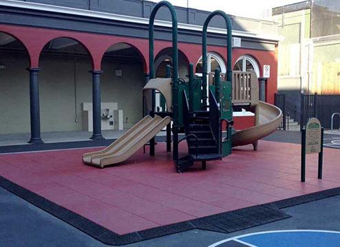 Playground Flooring Tiles