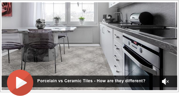 Porcelain vs Ceramic Tiles - How are they different?