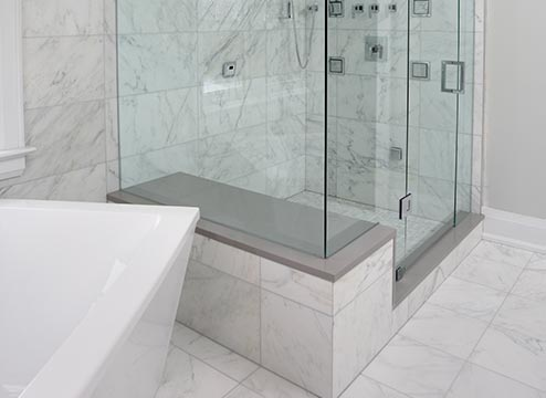 Natural Stone Tile Bathroom Flooring Options