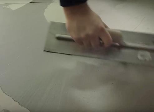 leveling a concrete subfloor