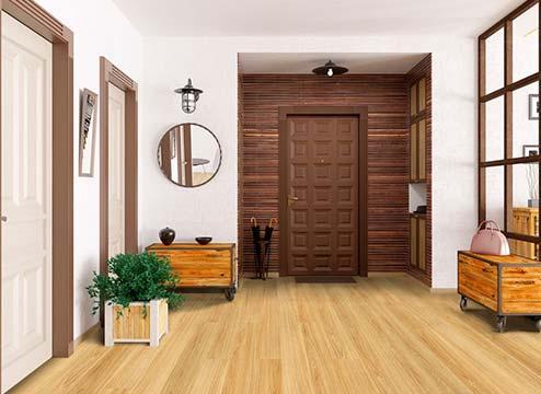 FlooringInc Sterling Peel & Stick Vinyl Planks in a residential setting
