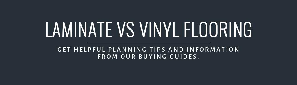 Flooring Inc Laminate vs Vinyl Flooring