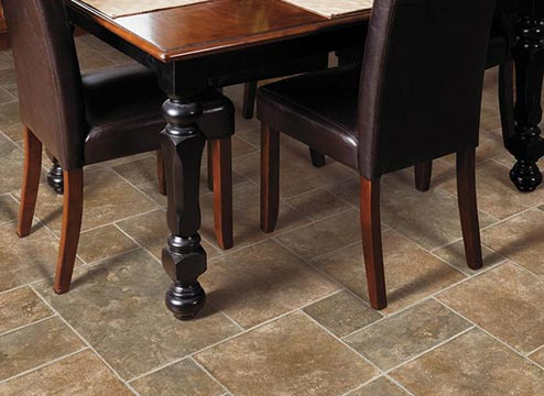 sheet vinyl flooring kitchen tiles