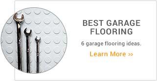 Best Garage Flooring Options Buyers Guide