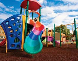 Playground Rubber Mulch - Bulk