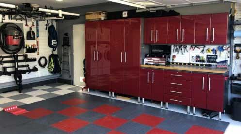Ulti-MATE Garage 2.0 Series 4-PC Tall Cabinet Kit