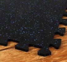 3/8 Sport-Lock Rubber Tiles