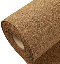 Rubber Cork Underlayment