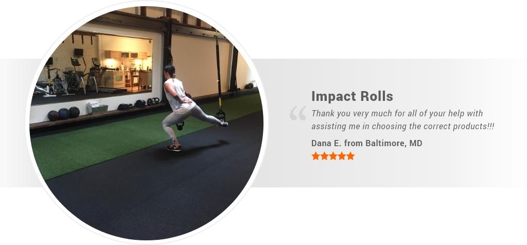impact rubber rolls