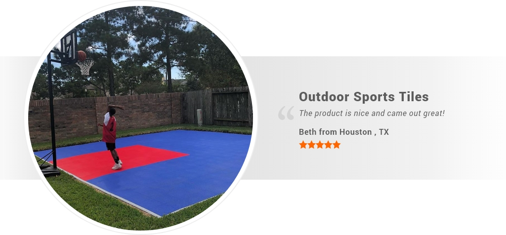 outdoor sports tiles