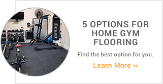 5 Options for Home Gym Flooring