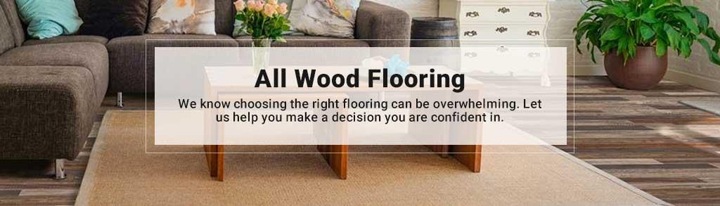 all wood flooring