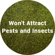 wont attract pest and insects