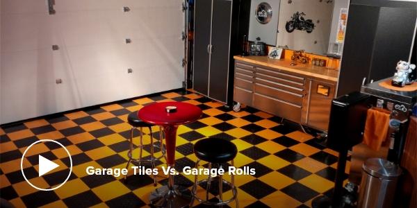 Garage Tiles Vs. Garage Rolls