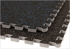 3/4 Soft Rubber Tiles
