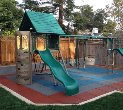 playground flooring fall height