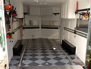 Shop Trailer FLooring