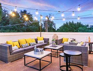 rooftop deck Flooring