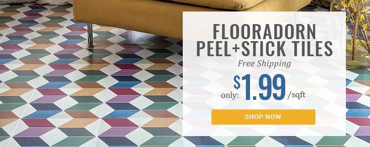 Floor Adorn vinyl Tiles