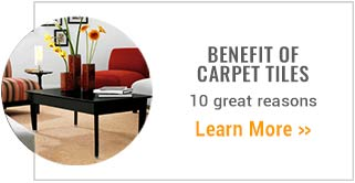 The Benefit of Carpet Tiles