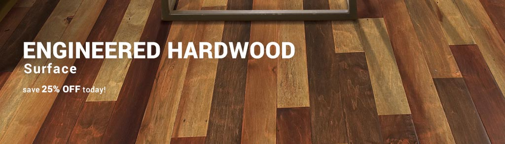 engineered wood surface