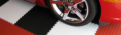 Flexible Garage Tiles